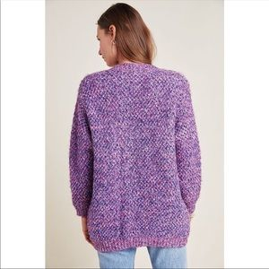 RAGA METALLIC PURPLE PULLOVER SWEATER